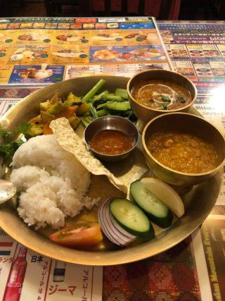 行きつけの美味しいインド料理店