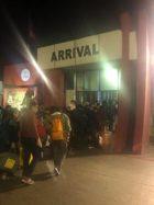 ネパールトリブバン空港到着ターミナル