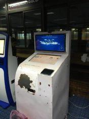 カトマンズのVISA申請機械