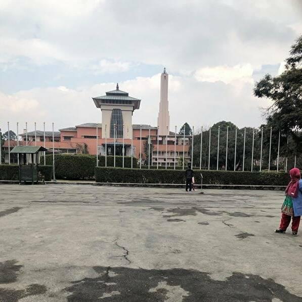 ナラヤンヒティ王宮博物館は昔は王様の住居